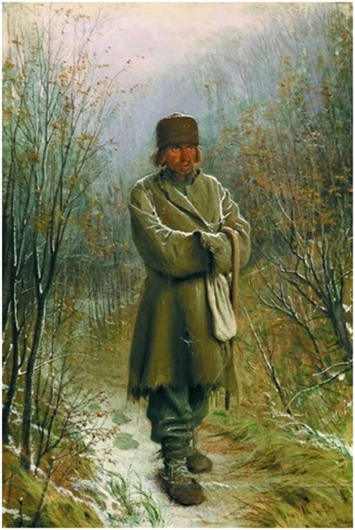 Крамский И. Созерцатель. 1876г.